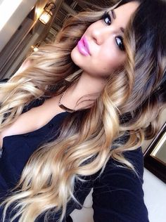 This. This is #sosexy I cannot handle it. #blondeombre #sexyhair