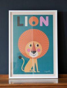 Mr Lion Print