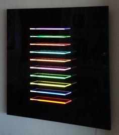 Light Tape Edge Lit Acrylic Display  http://www.lighttape.co.uk