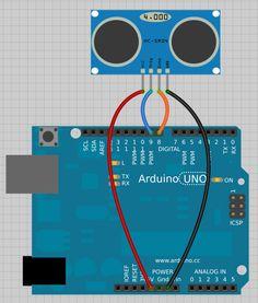 Ejemplo #5 Sensor de distancia ultrasónico HC-SR04 con Arduino   Arduino de todo un poco