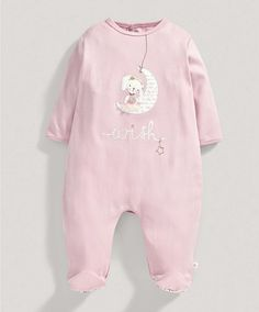 Girls Bunny Applique All in One - All Girls - Mamas & Papas