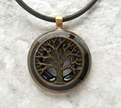 heather tree of life necklace mens jewelry celtic jewelry mens necklace unique gift nature necklace wiccan necklace mens gift