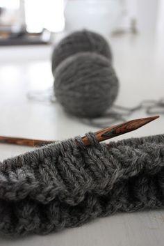 Beautiful knitting needles