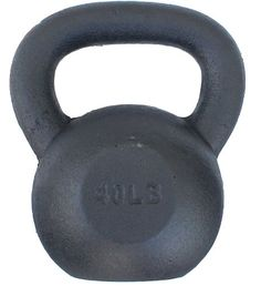 lbs Solid Cast Iron Kettlebell (Kettle Bell) - Special Promotion. Lowest Price & Fastest Shipment