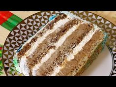 Posna lesnik torta Recept 1 - YouTube Torte Recepti, Kolaci I Torte, Cake Roll Recipes, Dessert Recipes, Torta Recipe, Posne Torte, Rodjendanske Torte, Croatian Recipes, Bosnian Recipes