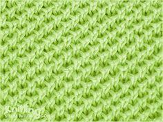 Pearl Brioche   |  Knitting Stitch Patterns