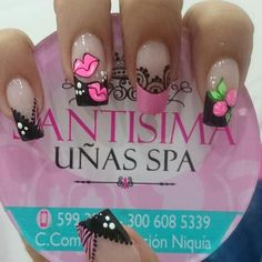 Love Nails, Fun Nails, Marble Nail Art, Eyeliner, Cute Nail Art, Nail Decorations, Fabulous Nails, Cool Nail Designs, Nail Manicure
