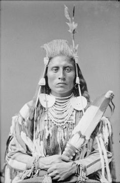 Medicine Crow, taken by C. Bell in Washington, Shows the distinctive hairstyle of the Crow Indians, with bangs stood on end. Native American Pictures, Native American Tribes, Native American History, American Indians, Indian Tribes, Native Indian, Crow Indians, Plains Indians, American Indian Art