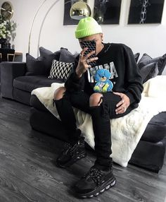 Matte black iPhone case with white repeat LMDN print. The ultimate streetwear accessory. Perfect for mirror selfies! Shop now to find more cases that compliment your fit pics! All Black Everything, Rap Music, Khaki Green, Kobe Bryant, Black Belt, Compliments, Street Wear, Winter Hats, Iphone Cases