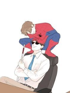 Spideydevil Spiderman x Daredevil