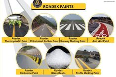 we deliver nation wide and internationally, we deal as contractor for road markings supplies. we delive our products internationally having 12 years of expeince in the field comply with international standards.