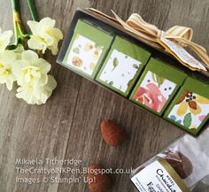 Mikaela Titheridge, The Crafty oINK Pen: OnStage 2016 - Telford, Swaps and Team Gifts using English Garden and Garden in Bloom. Supplies available www.thecraftyoinkpen.stampinup.net