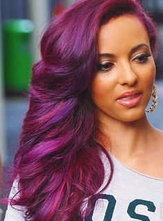 one of many of Jade Thirlwall's hair colors im jealous of! all of little mix has gorgeous hair!