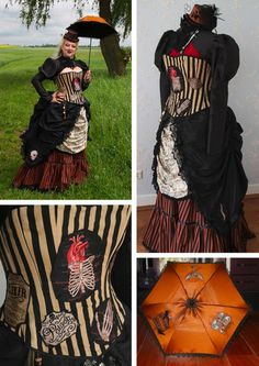flannel and lace steam punk - Google Search