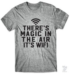There's magic in the air... it's wifi!