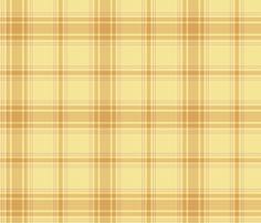 daffodil yellow hiking plaid fabric by weavingmajor on Spoonflower - custom fabric