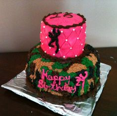 Browning camo cake. Sweet 16 Birthday Cake, Camo Birthday, 18th Birthday Cake, Birthday Ideas, Camo Cakes, Camo Wedding Cakes, Redneck Cakes, Camouflage Cake, My Bridal Shower