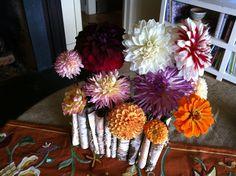 an entire arrangement of my favorite flowers :)