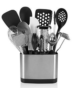 OXO 15-Piece Kitchen Utensil Set - Kitchen Gadgets - Kitchen - Macy's