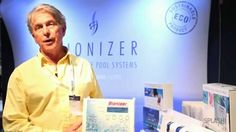 Ian Jones talks about the Bioniser chlorine-free swimming pool sanitisation system. Swimming Pool Maintenance, Swimming Pools, Free Pool, Salt, Canning Jars, Swiming Pool, Pools