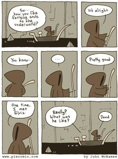A Journey To The Underworld Comic
