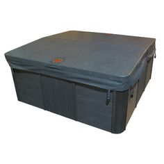 """Canadian Spa Co Square 5 in/3 in Tapered Spa Cover Color: Gray, Size: 90"""" W x 90"""" D"""