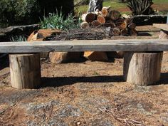 Outdoor Fire Pit Plans | thom haus handmade: No-Fuss Outdoor Firepit and Seating