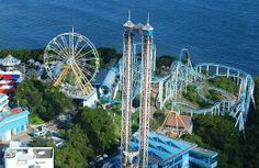 hong kong ocean park-this is where I rode my first roller coaster!