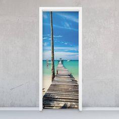 Türfolie - Blue Water : Portas por creatisto GmbH