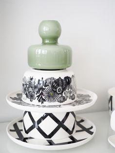 Still loving these Marimekko, Little Things, Small Things, Glass Ceramic, Scandinavian Home, Visual Merchandising, Textile Design, Finland, Design Trends
