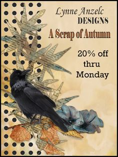 Lynne Anzelc latesy release, a scrap of autumn 20% off though monday!