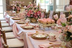 Fancy Tea Party....we need to do this!!!  You know who I'm talking to, right!!!