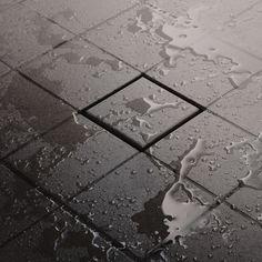 Schulter tileable drain