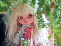 OOAK Custom Icy Doll - Cherry Blossom by sarsarblanki