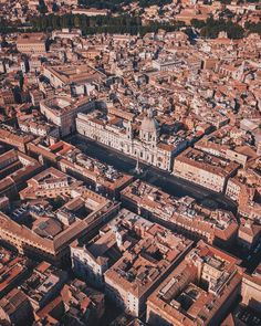 #roma ♠ Piazza Navona from above -photo by @donquiellumbera_ su Instagram