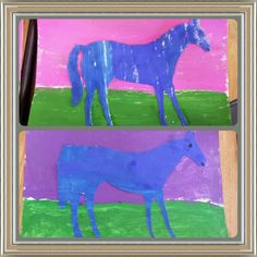 Eric Carle, The Artist Who Painted A Blue Horse,  Kinder Art