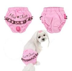 Free Dog Clothes Patterns: Dog sanitary panty diaper nappy patterns