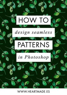 Illustrator Dicas how to design a seamless pattern in Photoshop Adobe Photoshop, Effects Photoshop, Photoshop Design, Photoshop Tutorial, Photoshop Actions, Creative Photoshop, Adobe Indesign, Photoshop Elements, Graphisches Design