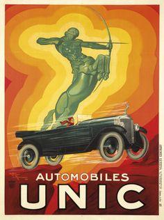 Automobiles Unic, by Henry Le Monnier   1928