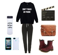"""""""Director Costume"""" by lilli-cupcake on Polyvore featuring Topshop, Dr. Martens, Ballard Designs and Speck"""
