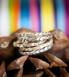 Pinecone Stacking Ring by Colby  June on Scoutmob Shoppe