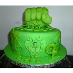 Torte Compleanno Bambini Hulk.7 Fantastiche Immagini Su Torte Con L Incredibile Hulk Hulk