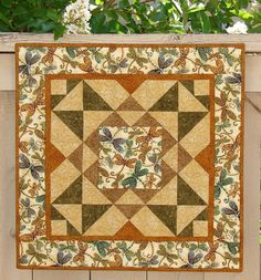 Dragonfly Wall Quilt or Table Topper by susiquilts on Etsy, $45.00