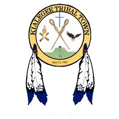 """TheKialegee Tribal Townis afederally recognized Native American tribeinOklahoma, as well as a traditional township within the formerMuscogee Creek Confederacyin the American Southeast. Tribal members pride themselves on retaining their traditions and many still speak their traditionalMuscogee language. The name """"Kialegee"""" comes from the Muscogee word,eka-lache, meaning """"head left."""" * 30059SFT"""