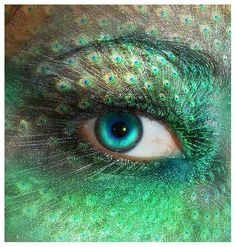 Fantasy Eye Makeup Ideas The edgy, fantasy makeups aren't available just for Halloween or other special events and parties. Description from pinterest.com. I searched for this on bing.com/images