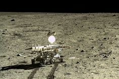 2015-12-22 NEW KIND OF MOON ROCK FOUND BY CHINESE YUTU ROVER. The Chinese Chang'e 3 mission to the moon is delivering the first new scientific results from the lunar surface since US and Russian missions ended in the 1970s
