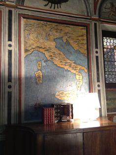 Fresco at Casa degli Atellani, Milan