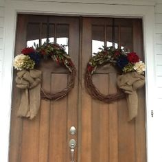 23 Best Double Door Wreaths Images Wreaths Deco Mesh Wreaths