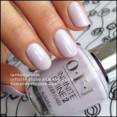 OPI Lavendurable – Infinite Shine Summer 2015