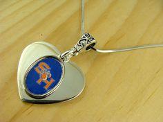 SHSU Silver Charm Necklace